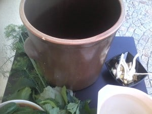 Garnek do kiszenia ogórków