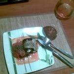 Bakłażany z serem i sosem pomidorowym